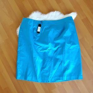Talbots NWT womens blue pencil skirt sz 22 $109